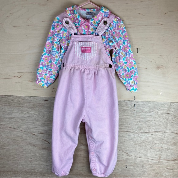 Osh Kosh B/'gosh Infant Girls Aqua /& Purple Puffer Vest Size 24M $30